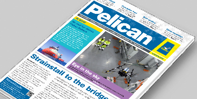 Front cover of the Winter 2016 edition of the Pelican newsletter