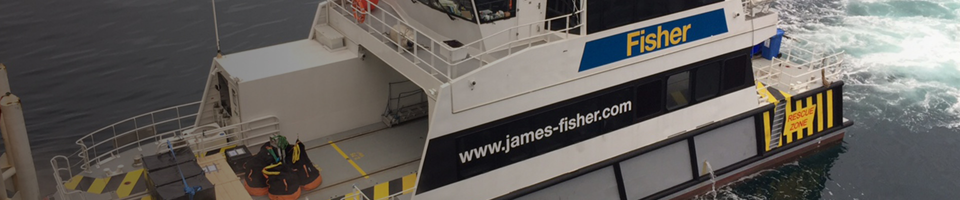 James Fisher and Sons plc | Offshore support vessel