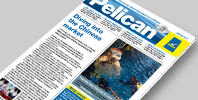 Front cover of the Spring Pelican newsletter