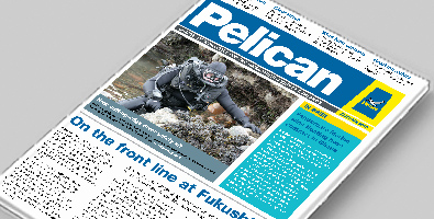Front cover of Autumn 2016 Pelican newsletter